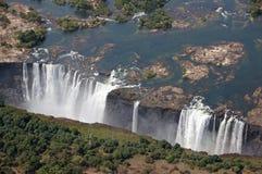 Victoria Falls Zimbabwe Royaltyfria Bilder