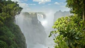 Victoria Falls Zimbabwe video estoque
