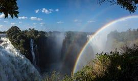 Victoria Falls, Zimbabwe Immagini Stock Libere da Diritti