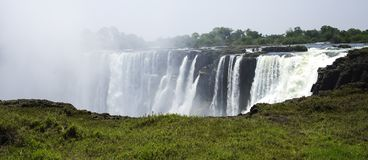 Victoria Falls in Zimbabwe, Africa Royalty Free Stock Photography