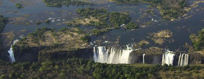 Victoria Falls. In Zimbabwe, Africa Stock Photography