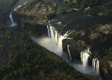 Victoria Falls. In Zimbabwe, Africa Royalty Free Stock Images