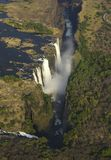 Victoria Falls. In Zimbabwe, Africa Royalty Free Stock Photography
