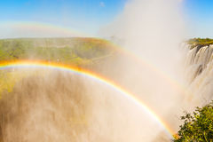 Victoria Falls in Zimbabwe Stock Images