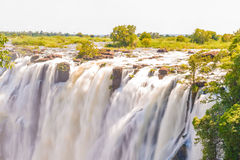 Victoria Falls in Zimbabwe Royalty Free Stock Images