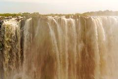Victoria Falls in Zimbabwe Stock Image