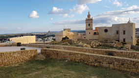 Victoria Fortress Gozo island Stock Photography