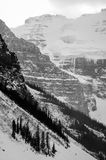 Victoria Glacier Lizenzfreie Stockbilder