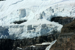Victoria Glacier Telephoto Royalty Free Stock Photos