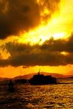 Victoria-Hafen Stockfotos