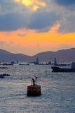 Victoria-Hafen Stockfoto