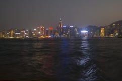 Victoria-Hafen bei Hong Kong Lizenzfreie Stockbilder