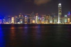 Victoria-Hafen bei Hong Kong Lizenzfreies Stockbild