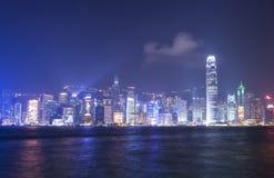 Victoria-Hafen bei Hong Kong Lizenzfreie Stockfotografie