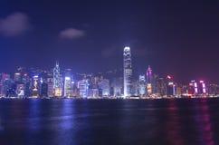 Victoria-Hafen bei Hong Kong Stockfotos