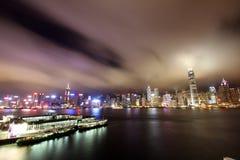 Victoria-Hafen Hong Kong lizenzfreie stockbilder