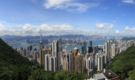 Victoria-Hafen Hong Kong stockbilder