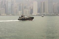 Victoria-Hafen in Hong Kong Lizenzfreies Stockfoto
