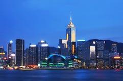 Victoria-Hafen, Hong Kong Stockfotos