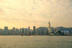 Victoria-Hafen von Hong Kong stockfoto