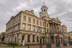 Victoria Hall in Cobourg, Ontario. Victoria Hall in Cobourg in Ontario. Cobourg, Ontario, Canada stock images