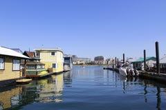 Victoria hamn Arkivfoto