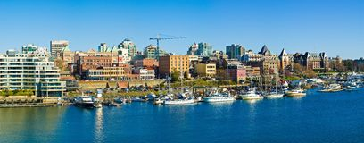 Victoria hamn Fotografering för Bildbyråer