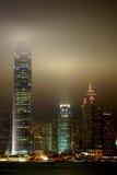 Victoria hamn, Hong Kong Royaltyfri Foto