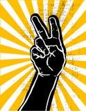 Victoria hand- negra Fotografía de archivo libre de regalías