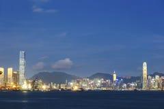 Victoria Harbor de Hong Kong City Photos stock
