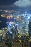 Victoria Harbor de Hong Kong City Images stock