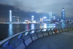 Victoria Harbor de Hong Kong City Photos libres de droits