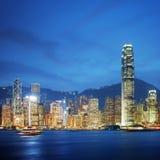 Victoria Harbor - Hong Kong Royalty Free Stock Images