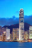 Victoria harbor of Hong Kong Royalty Free Stock Image