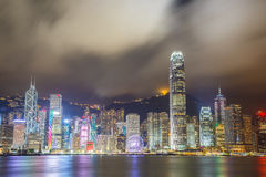 Victoria Harbor Stock Photo