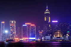Victoria harbor Royalty Free Stock Photography
