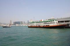 Victoria Harbor in Hong Kong Royalty Free Stock Photography