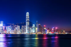 Victoria Harbor of Hong Kong Stock Images