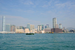 Victoria harbor of hongkong Royalty Free Stock Images