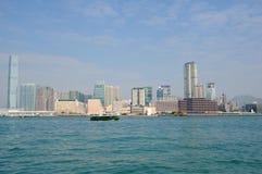 Victoria harbor of hongkong Royalty Free Stock Images