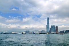 Victoria harbor of hongkong Stock Photos