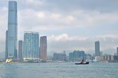 Victoria harbor of hongkong Royalty Free Stock Image