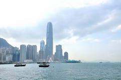 Victoria harbor of hongkong Royalty Free Stock Photo