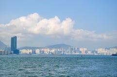 Victoria harbor of hongkong Stock Photo