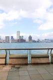Victoria harbor of hongkong Stock Image