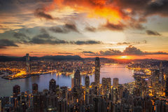 Victoria Harbor Stock Photography