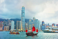 Victoria harbor Royalty Free Stock Images