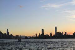 Victoria Harbor van kwun tong aan het noordenpunt royalty-vrije stock fotografie