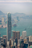 Victoria Harbor View Royaltyfria Bilder