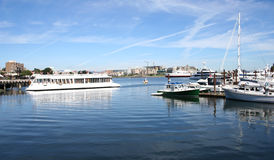 Victoria Harbour Canada. Boats in Victoria Harbour, Canada Stock Photography